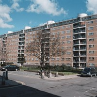 Council Housing, Churchill Gardens, Pimlico, Greater London