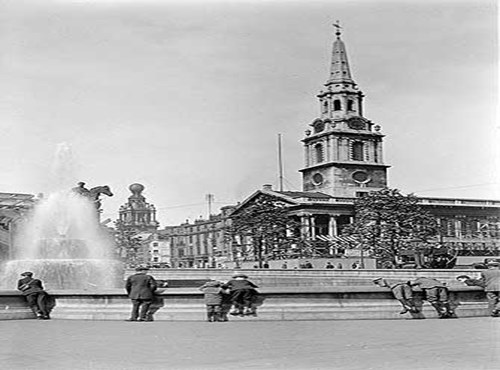 Trafalgar Square, Westminster, Greater London