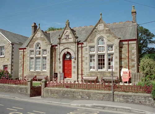 Miners and Mechanics Institute, St Agnes, Cornwall