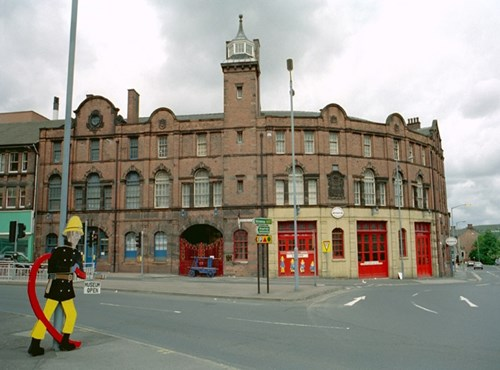 West Bar Fire Station Museum, Sheffield, Yorkshire
