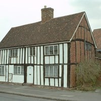 A pair of cottages in Elstow Bedfordshire