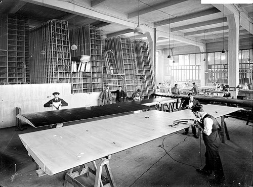 First World War Aircraft Works, Waring and Gillow, London
