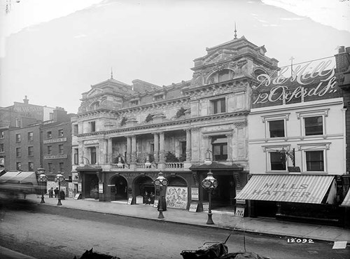 The Oxford Music Hall, Oxford Street, Westminster, London