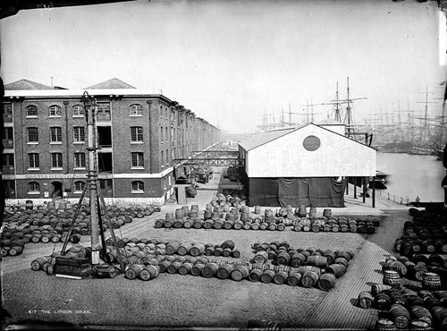 London Docks, Number One Warehouse, Wapping, Stepney, Greater London