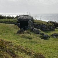 Bant's Carn Burial Chamber, St Marys, Isles of Scilly
