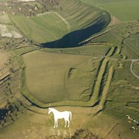 Bratton Camp Hillfort, Westbury, Wiltshire