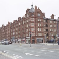 Council housing, Victoria Buildings, Manchester, Greater Manchester