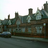 Almshouses, Weat Street, Alford, Lincolnshire
