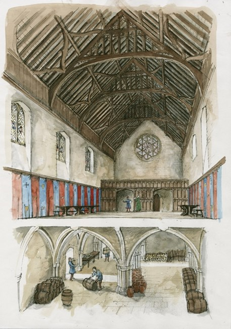 Winchester Palace, Southwark, Greater London