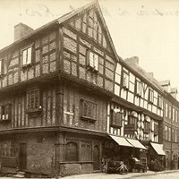 Abbot's House, Butcher Row, Shrewsbury, Shropshire