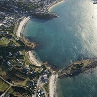 Aerial View, Harry's Walls, St Mary's, Isles of Scilly