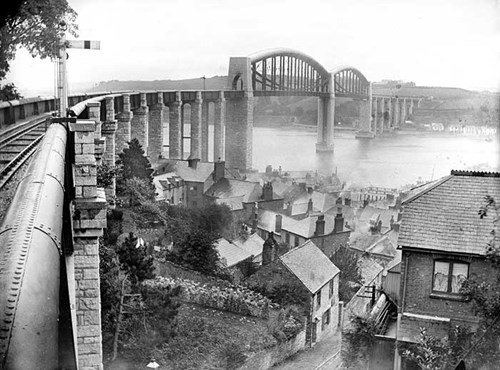 Royal Albert Bridge, Saltash, Cornwall