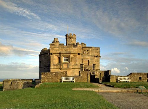The keep, Pendennis Castle, Falmouth, Cornwall
