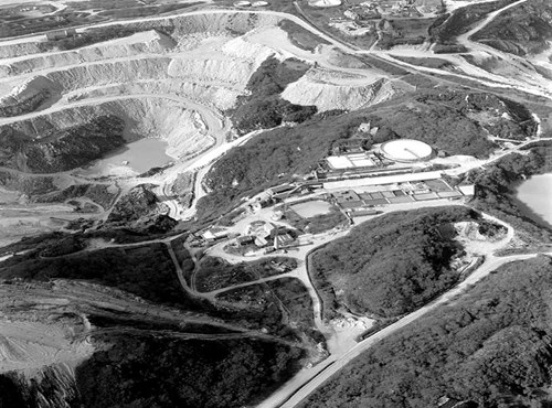 Goonvean China Clay Pit, Cornwall