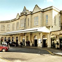 Bath Spa Station, Dorchester Street, Bath, Bath and North East Somerset