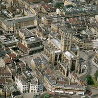 Aerial view of Bath, Bath and North East Somerset