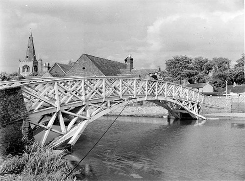 Chinese Bridge, Godmanchester, Cambridgeshire