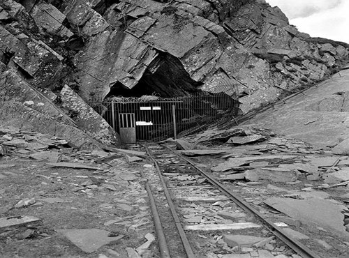 Road End Adit, Honister Slate Mine, Buttermere, Cumbria