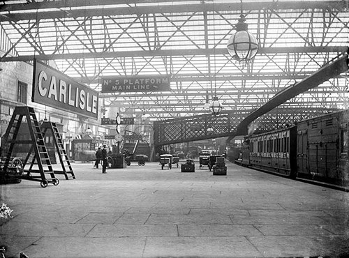 Carlisle Railway Station, Cumbria