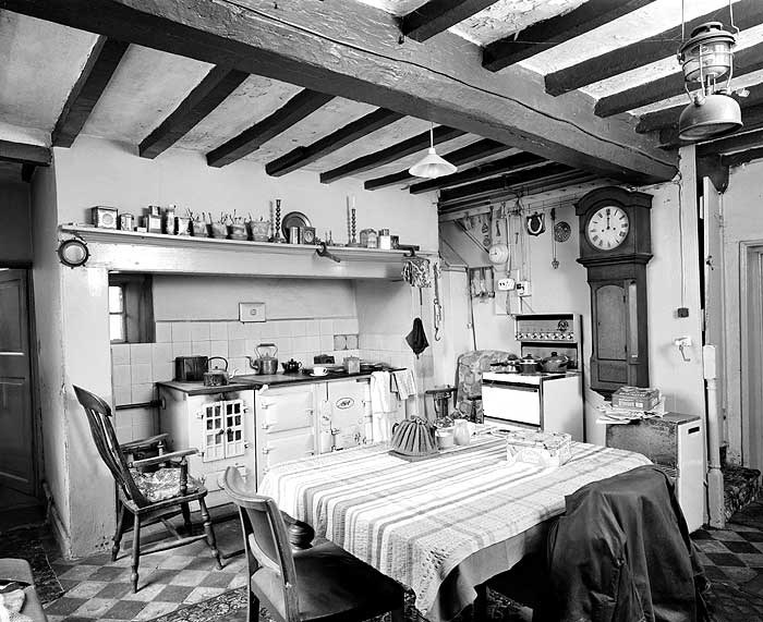 Kitchen, Newclose Farm, Burnaston, Etwall, Derbyshire