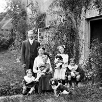 Family Portrait, Luppitt,  Devon