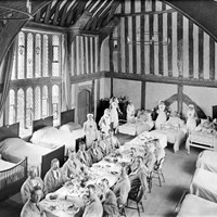Great Hall, Great Dixter, Northiam, East Sussex