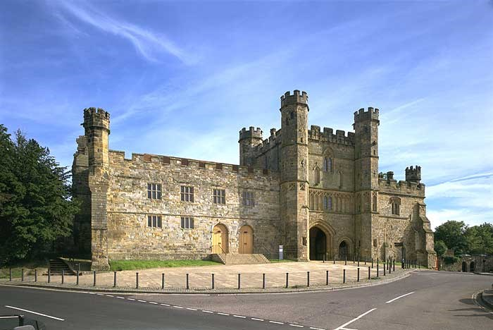 Gatehouse and courthouse, Battle Abbey, Battle, East Sussex