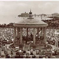 Bandstand, Redoubt Gardens, Royal Parade, Eastbourne, East Sussex
