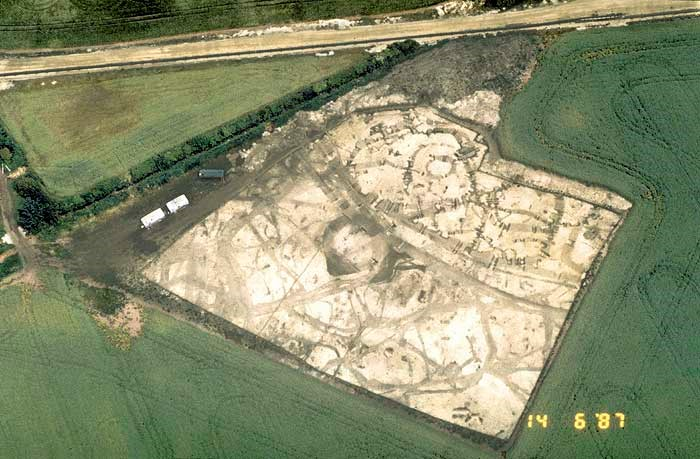 Excavation near Whelford, Kempsford, Gloucestershire