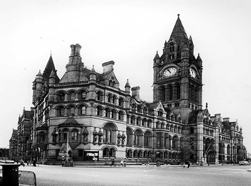 Town Hall, Albert Square, Manchester