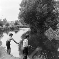 Anglers in Hertfordshire