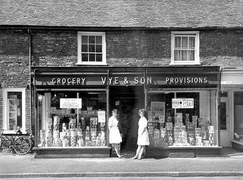 Vye and Son, Grocer, High Street, Lydd, Kent