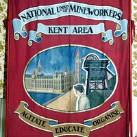 Banner, National Union of Mineworkers, Kent Area