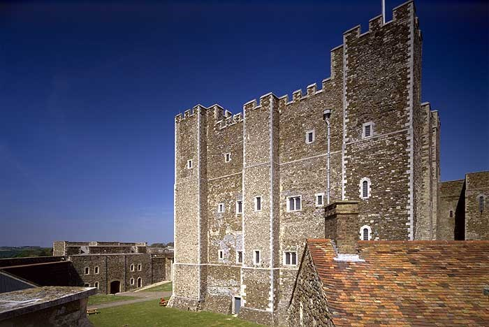 The Keep, Dover Castle, Dover, Kent