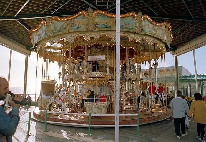 Venetian Carousel North Pier Blackpool Lancashire