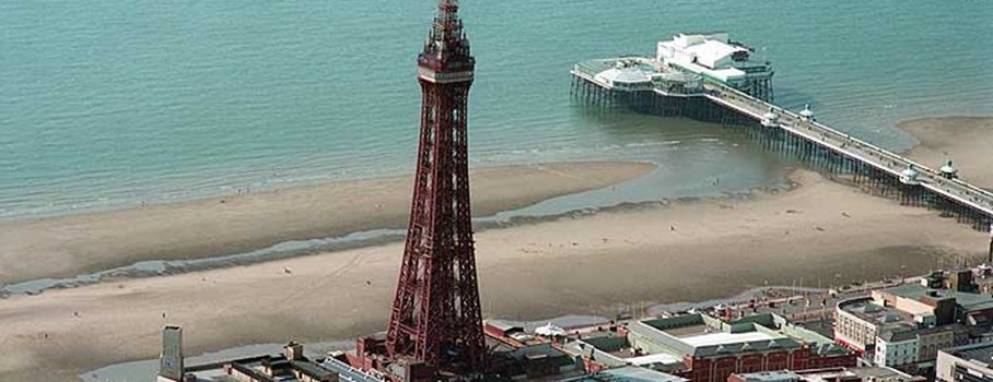 Blackpool Tower was inspired by the Eiffel Tower in Paris and opened on the 14th May, 1894.