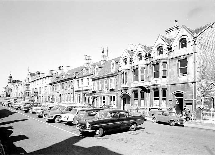 Broad Street, Stamford, Lincolnshire