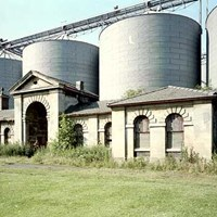 Boston Union Workhouse and grain silos, Lincolnshire