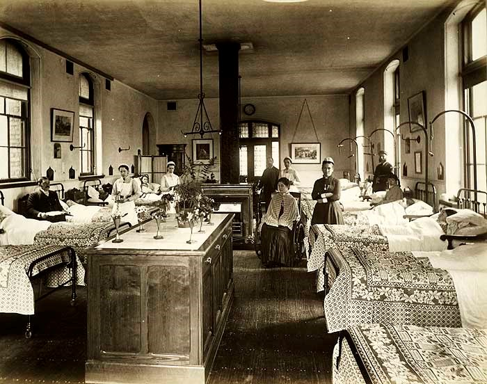 Female Ward, Hahnemann Hospital, 42 Hope Street, Liverpool, Merseyside