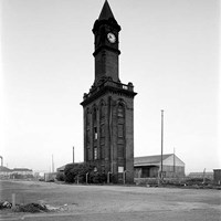 Dock Clock Tower, Dock Street, Middlesbrough, Cleveland
