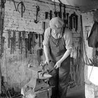 Blacksmith at Woodbastwick, Norfolk