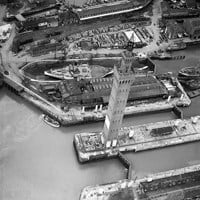 Dock entrances, Grimsby, North East Lincolnshire
