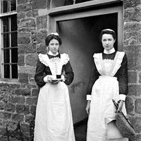 Two servants, Byfield, Northamptonshire