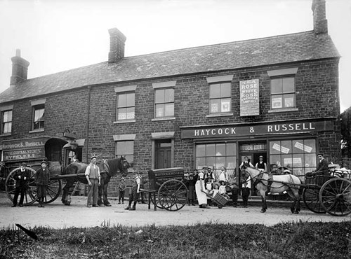 Haycock and Russell, General Store, Banbury Lane, Byfield, Northamptonshire