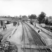 Railway station, Byfield, Northamptonshire