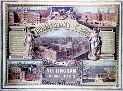 Advert for Adams and Page, Nottinghamshire