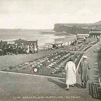 Cliff Gardens,  Saltburn By The Sea, Cleveland