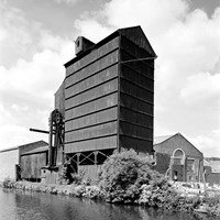 Grain Elevator, Canal Street, Sheffield, South Yorkshire