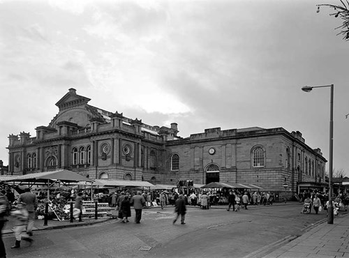 Corn Exchange and Fish Market,  Doncaster, South Yorkshire