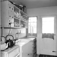Kitchen in a Howard House, Beech Avenue, Swindon, Wiltshire